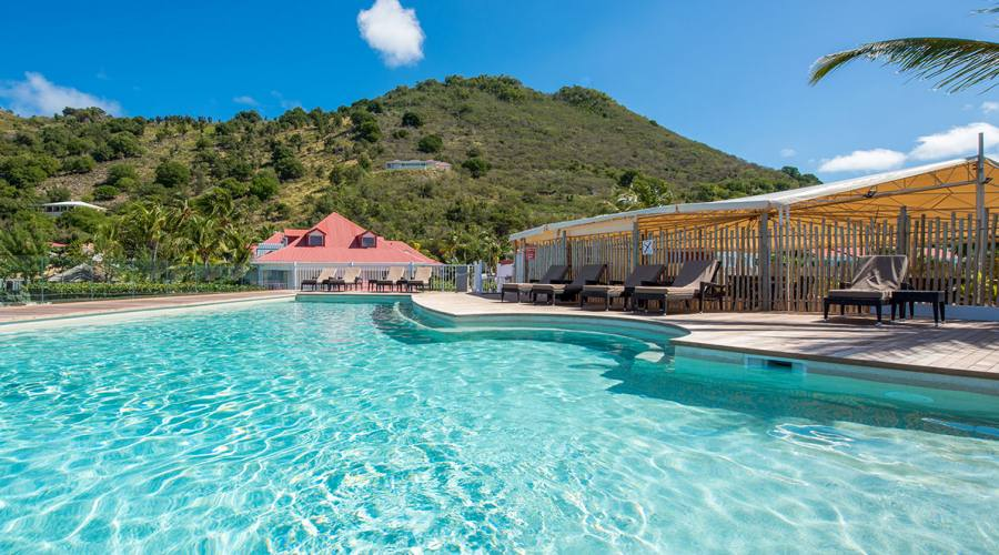 La piscina, Grand Case Beach Club