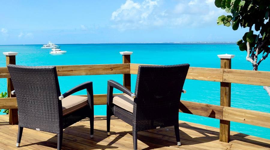 La vista oceano, Grand Case Beach Club