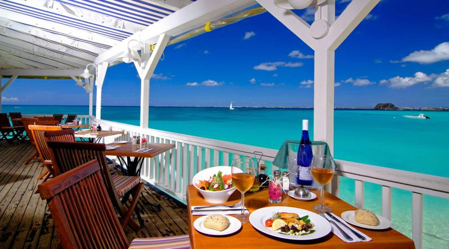Il ristorante del Grand Case Beach Club