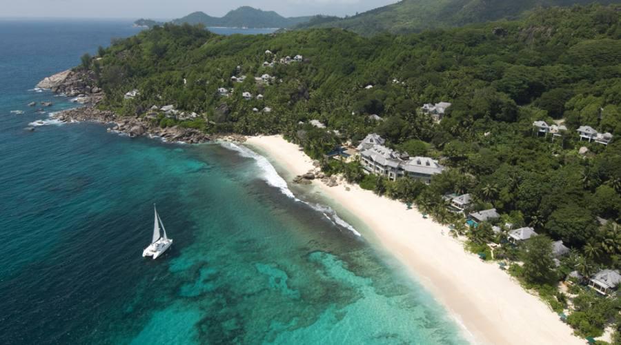 Vista d'insieme del resort