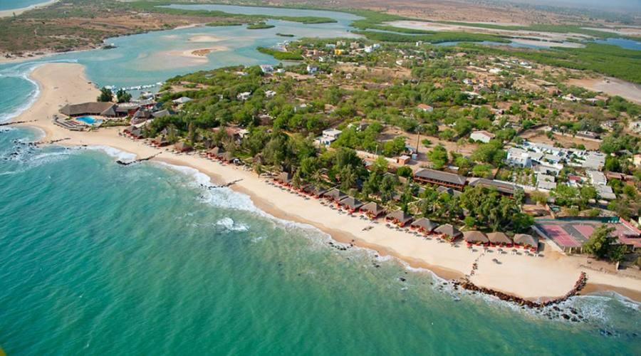 la spiaggia di Saly