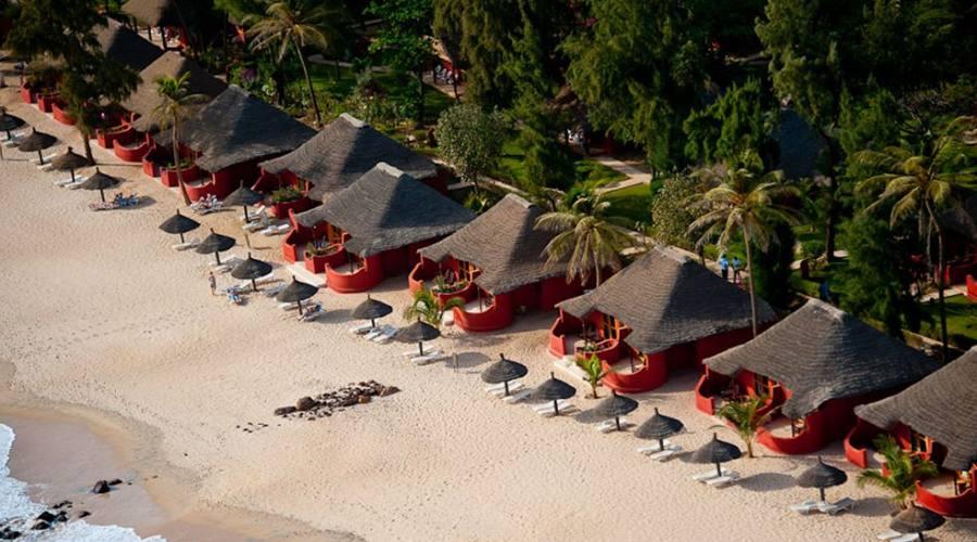 bungalows sulla spiaggia