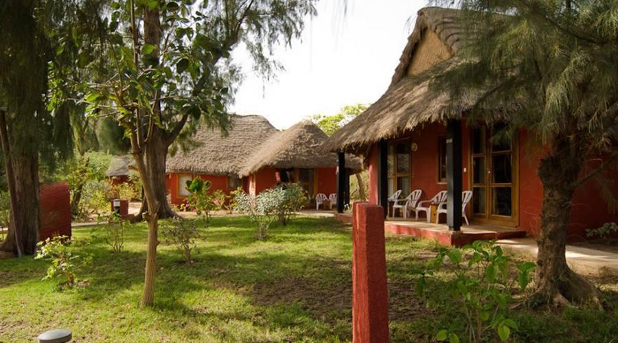bungalows nel giardino