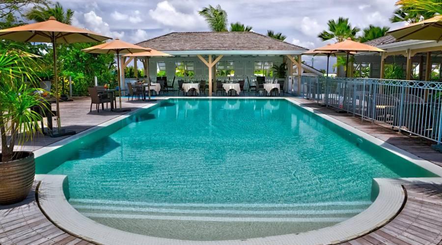 La piscina dell'Hotel La Plantation