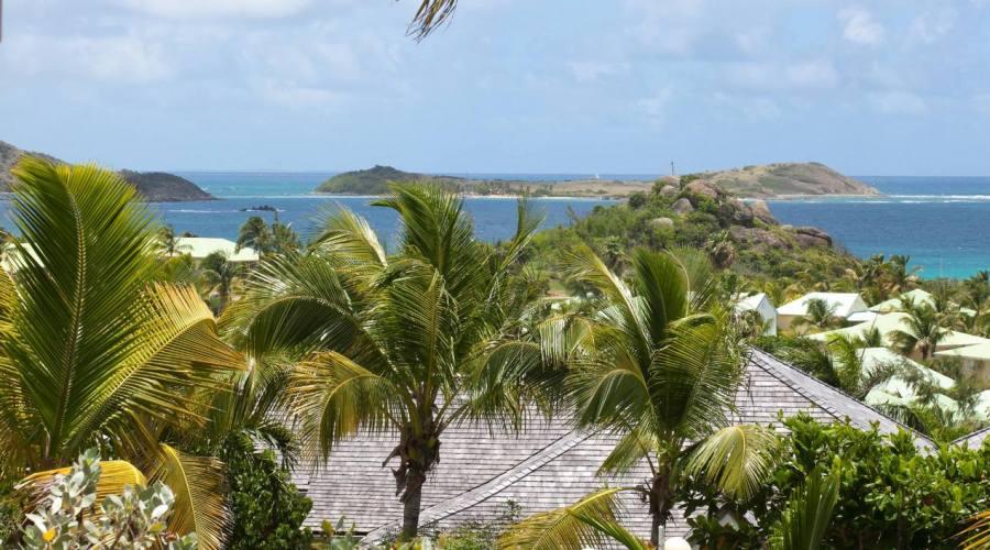 La vista mare dell'Hotel La Plantation