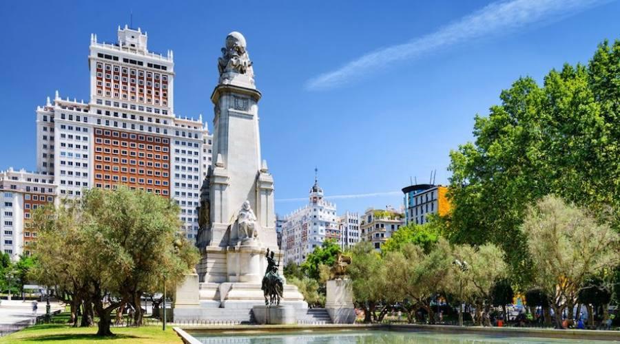 Plaza de Espana Madrid