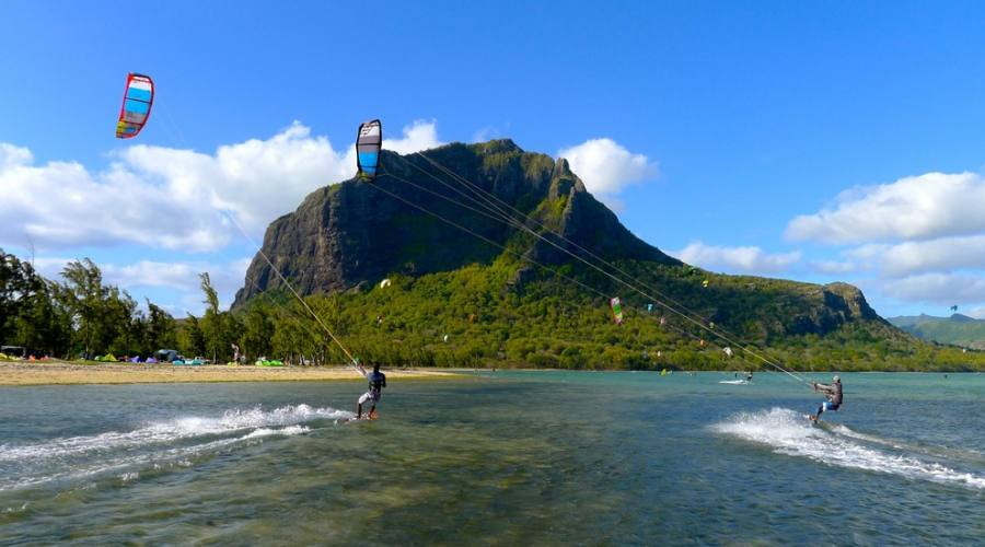 Kite a Le Morne