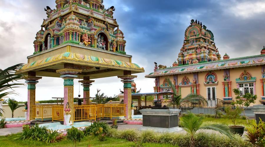 Tempio Hindu a Mauritius