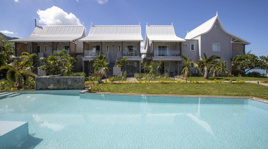 Le camere standard e la piscina
