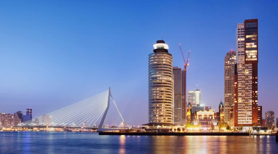 Rotterdam dal fiume