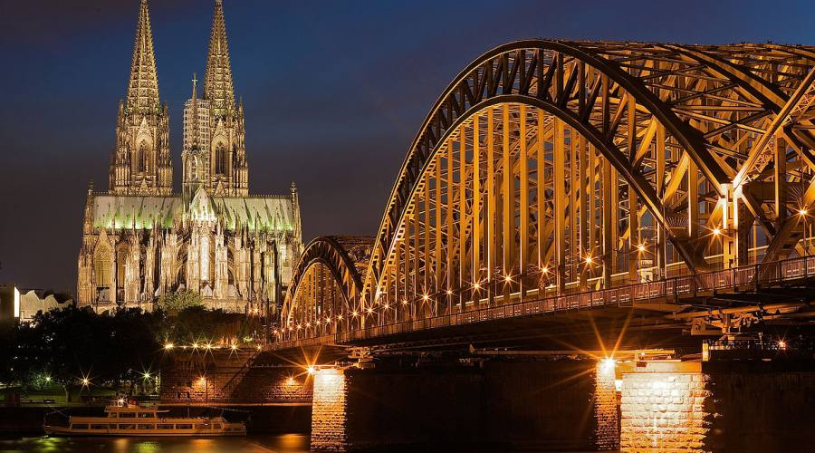 Colonia, Hohenzollern Bridge