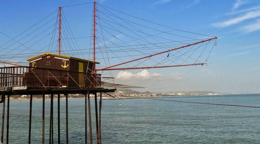 Pescara, trabocco sul mare
