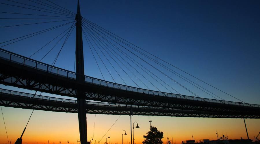 Pescara, pista ciclabile sopraelevata
