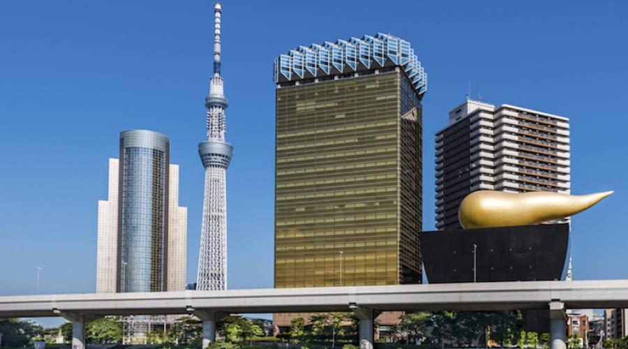 Tokyo - Skytree e Asahi Building