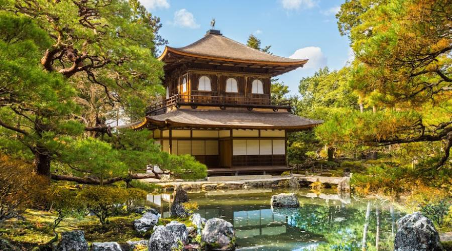 Kyoto - Padiglione d'Argento