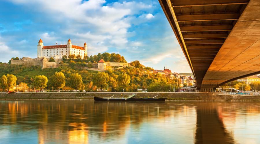 Bratislava , il castello