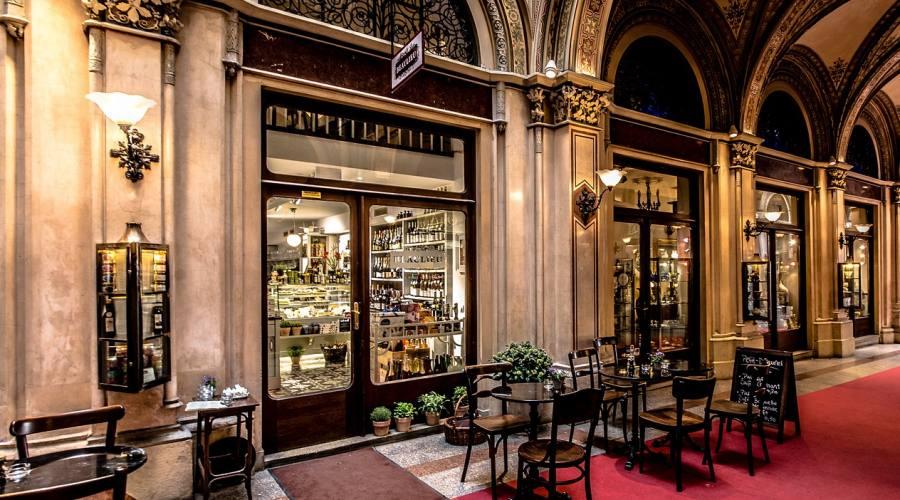 Vienna, un cafè