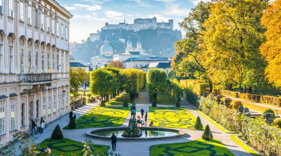 Salisburgo, i giardini