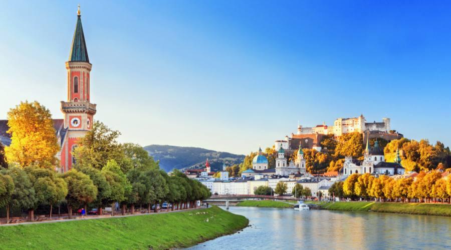 Salisburgo, da fiume