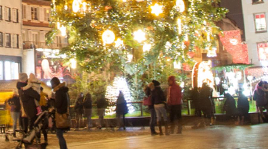 Salisburgo, luci del Natale