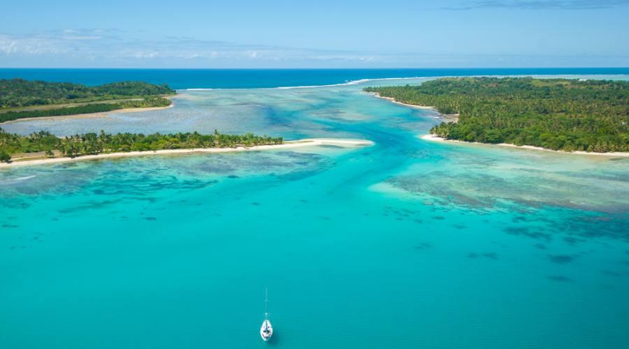 L'isola di Santa Maria vista dall'alto