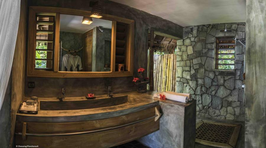 Il bagno del vostro bungalow
