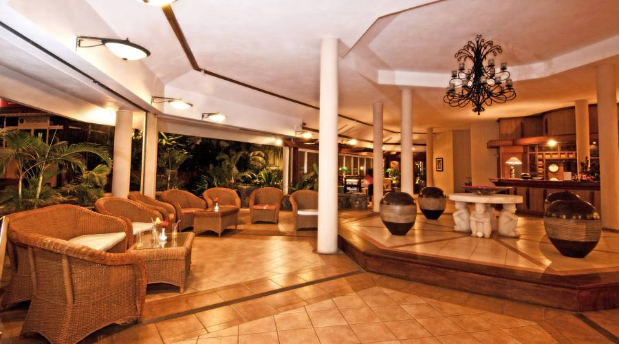 La hall dell'hotel