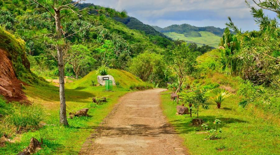 A passeggio sull'isola