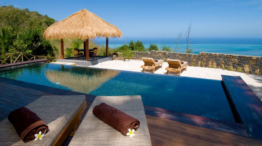 La Pool Suite Piton Canot Vista Mare