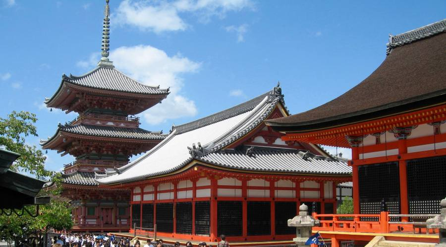 Kyoto - Tempio Kiyomizu-dera