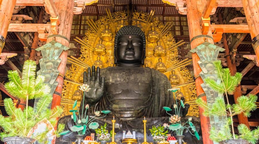 Nara - Il grande Buddha al Todai-ji