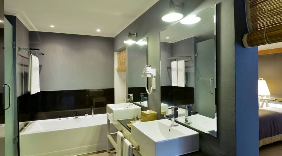 Il bagno della suite