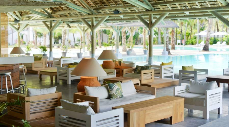 Il ristorante sulla piscina