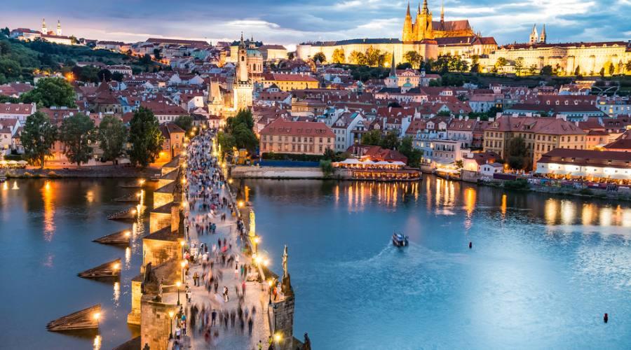 Praga, dal castello al ponte
