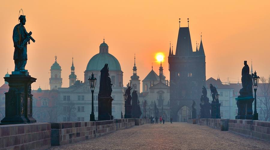 Praga, sognando sul Ponte Carlo