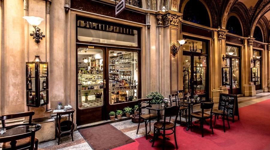 Vienna, uno storico cafè