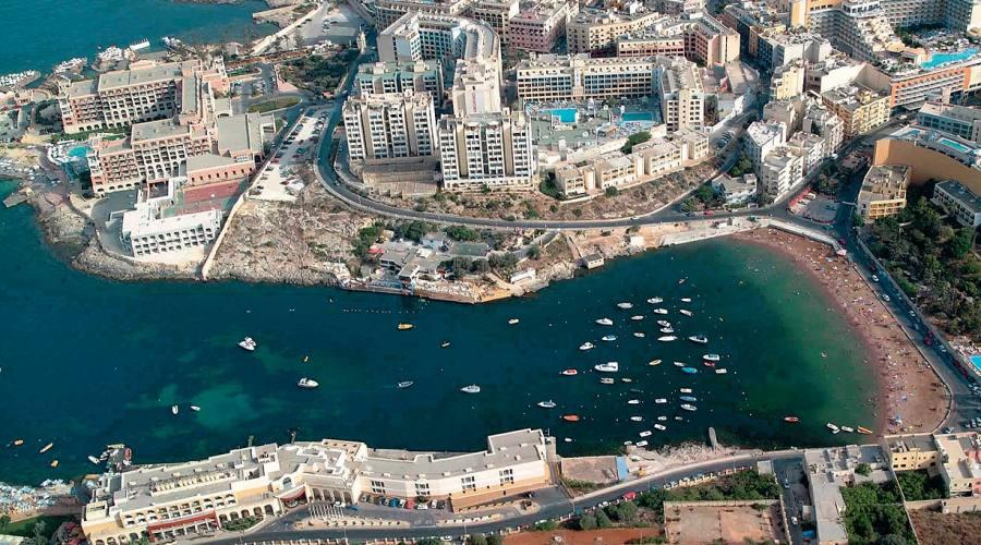 Malta: Spinola Bay