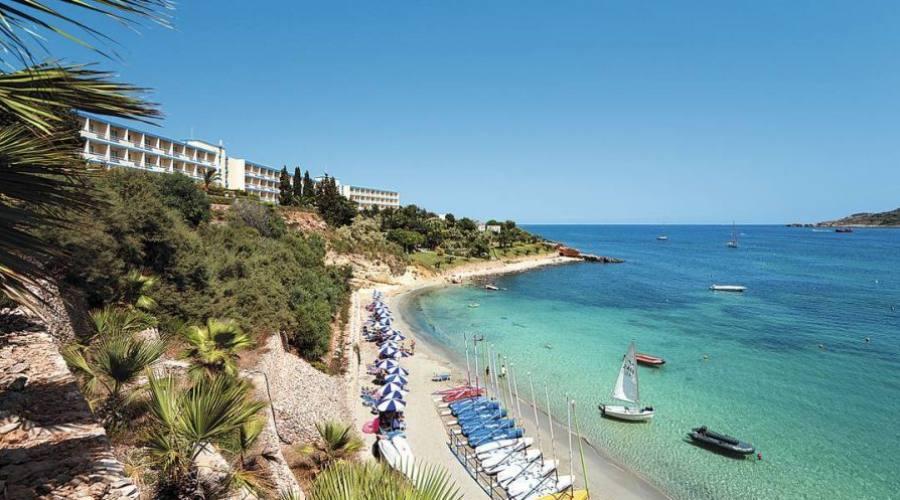 Mellieha Bay Hotel: Spiaggia Privata