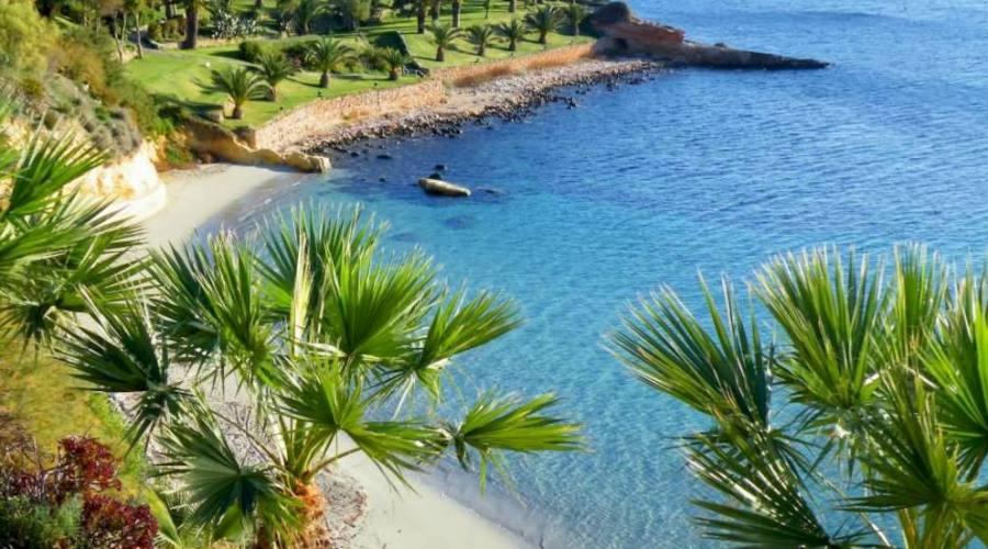 Mellieha Bay Hotel: Spiaggia