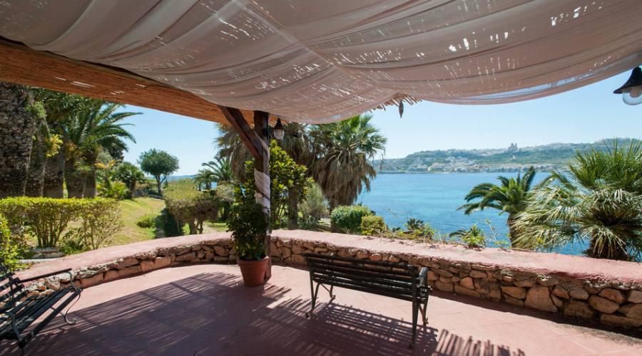 Mellieha Bay Hotel: Punto Panoramico nei Giardini
