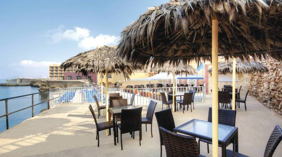 Paradise Bay: Cafè Esterno