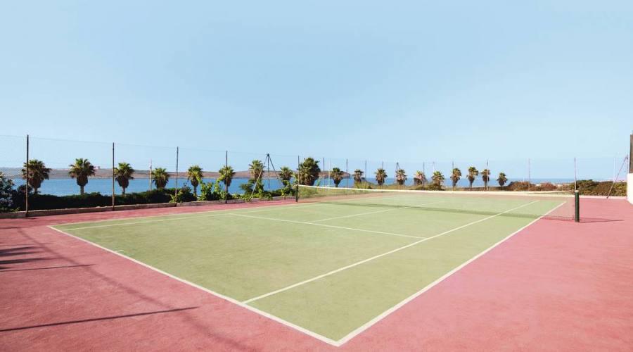 Paradise Bay: Campi da Tennis