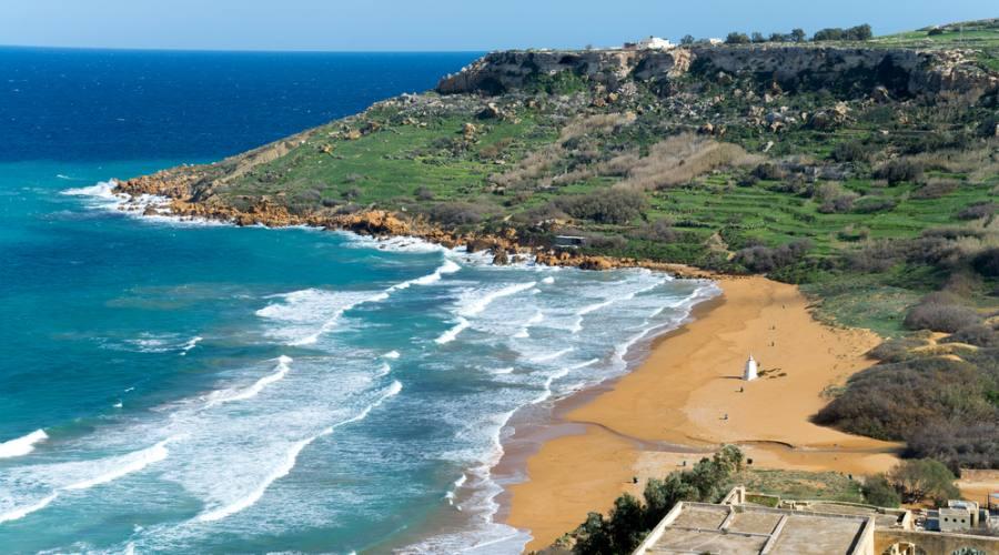 Gozo: Spiaggia di Ramla Bay