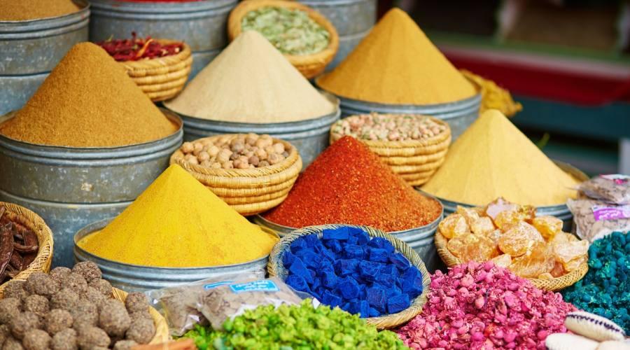 Spezie e Souk Marrakech