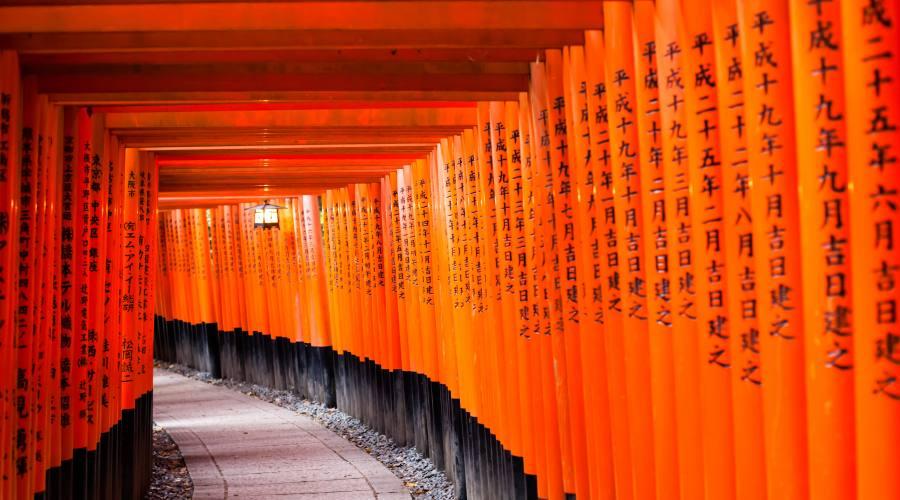 Kyoto, il Santuario di Fushimi Inari