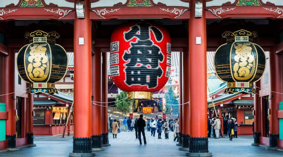 Tokyo, il tempio Senso-ji