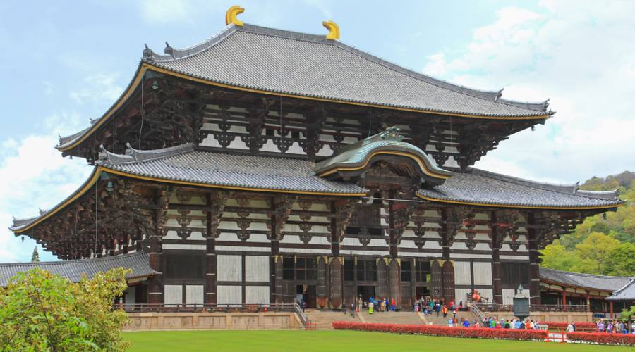 Nara, il tempio Todai-ji