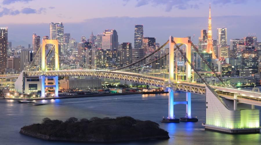Tokyo, la baia