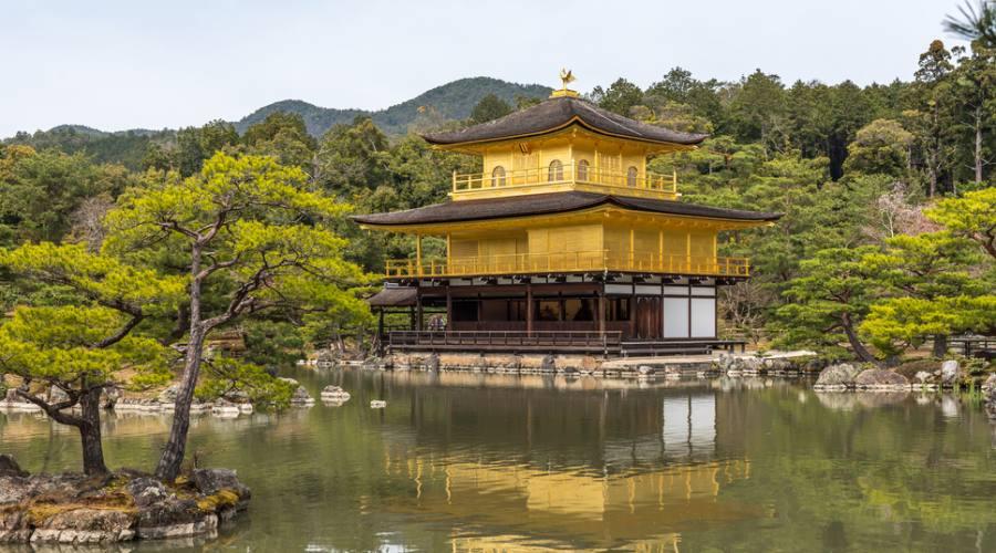 Kyoto, Kinkaku-ji il Padiglione d'Oro