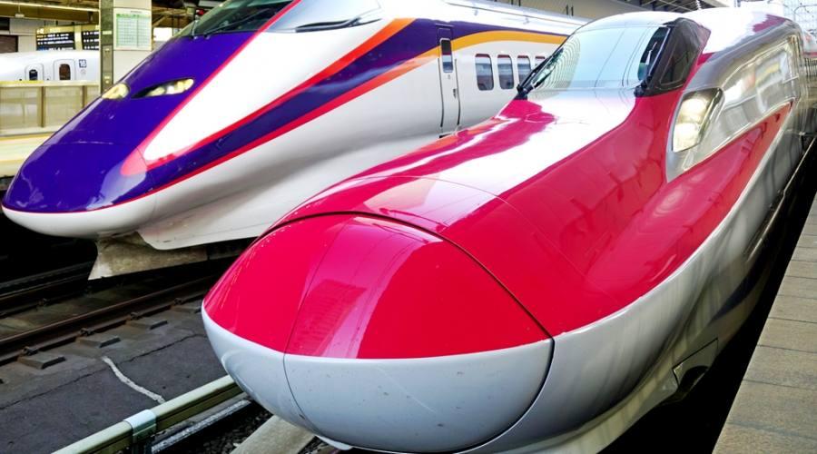 Ecco uno dei treni con cui viaggerete!